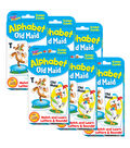TREND enterprises, Inc. Alphabet Old Maid Challenge Cards, 6 Sets