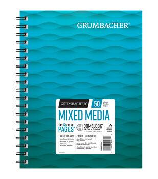 "Grumbacher 7""x10"" Mixed Media Pad-50 Sheets"