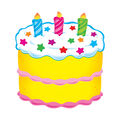 Trend Enterprises, Inc. Birthday Cake Accents, 36 Per Pack, 3 Packs