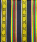 Global Cotton Shirting Fabric-Multi Global Stripe
