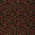 Christmas Cotton Fabric-Packed Pinecones with Holly