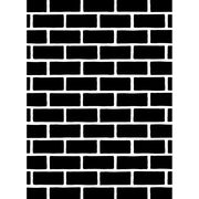 "Embossing Folder 4.25""X5.75""-Brick Pattern, , hi-res"