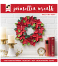 DCWV Paper Projects-16\u0022 Poinsettia Wreath