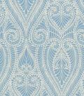 Home Decor 8\u0022x8\u0022 Swatch Fabric-IMAN Home Isen Damask Porcelain
