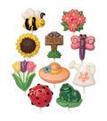 Wilton Candy Mold 2/Pkg-Bugs & Garden