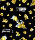 Nintendo Super Mario Cotton Fabric -Power Up