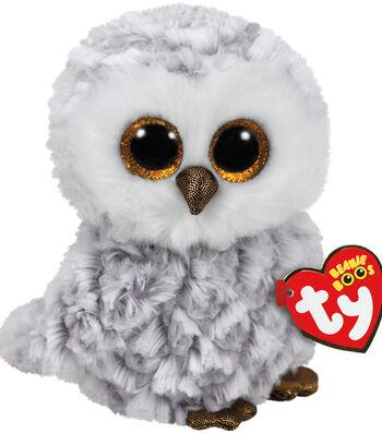 TY Beanie Boo White Owl-Owlette