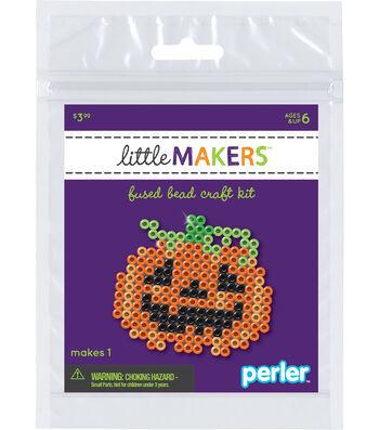 Little Maker's Fused Bead Craft Kit-Jack O Lantern