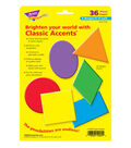 Super Shapes Classic Accents Variety Pack, 36 Per Pack, 6 Packs
