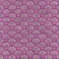 Luxe Flannel Fabric -Scallops Gray Plum
