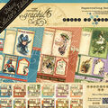 Graphic 45 Deluxe Collector\u0027s Edition Pack 12\u0022X12\u0022-Place In Time