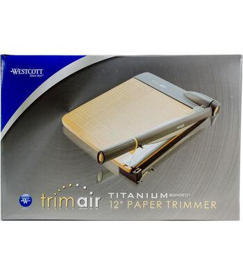 Westcott TrimAir 12'' Titanium Bonded Paper Trimmer