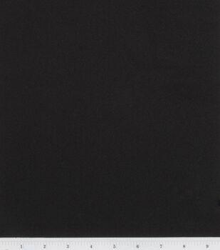 Sew Classics Crepe Suiting Fabric -Black