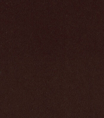 """Crypton Upholstery Fabric 54""""-Suede Chocolate"""