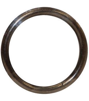Bag Works Purse/Tote Rings 2/Pkg-Onyx Circle
