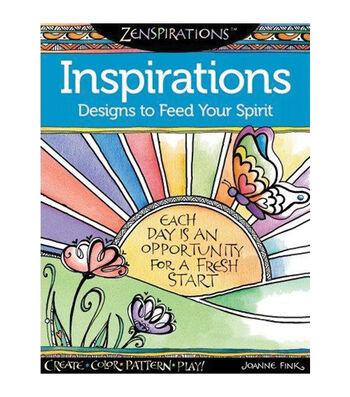 Adult Coloring Book-Design Originals Zenspirations Inspirations