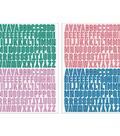 Maggie Holmes Willow Lane Alphabet Stickers 336/Pkg