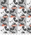Disney Mickey & Minnie Cotton Fabric 43\u0022-Cotton