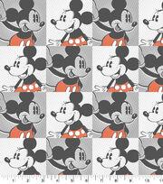 Disney Mickey & Minnie Cotton Fabric, , hi-res