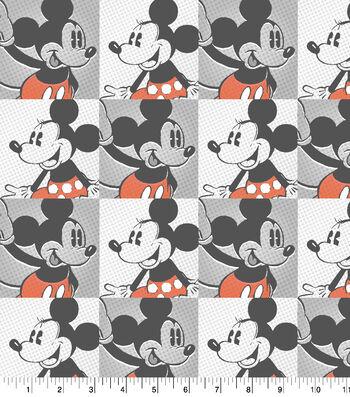 "Disney Mickey & Minnie Cotton Fabric 43""-Cotton"