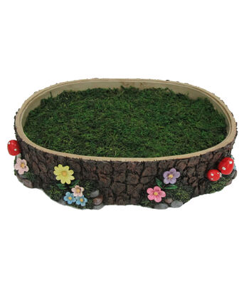 Bloom Room Littles Log & Moss Container