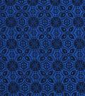 Keepsake Calico Cotton Fabric -Blue Lolite Medallion Blender