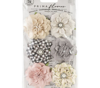Prima Marketing Mulberry Paper Flowers-Blessings/Spring Farmhouse