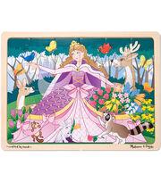 Melissa & Doug Woodland Princess Jigsaw 24pc, , hi-res