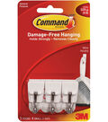 Command Utensil Hook W/ Adhesive-White