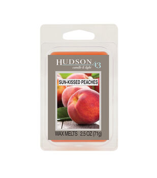 Hudson 43 Candle & Light Collection Wax Melt-Sun Kissed Peaches