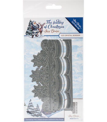Find It Trading The Feeling of Christmas 3 pk Dies-Ice Crystal Border