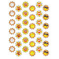Sunny Smiles Sparkle Stickers 12 Packs