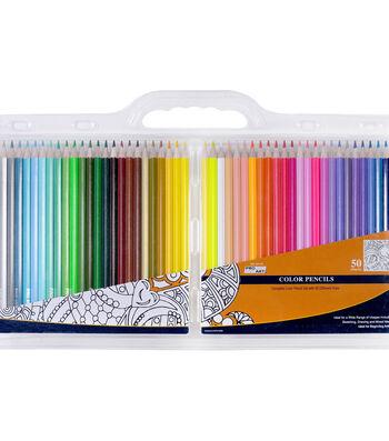 Pro Art Color Pencil Set Clam Pack 50 Pack-Assorted Colors
