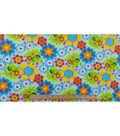 Anti-Pill Fleece Fabric 59\u0022-Froggie Floral
