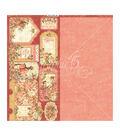 Princess Cardstock Die-Cuts 6\u0022X12\u0022 Sheets 2/Pkg-Tags & Pockets