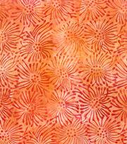 "Legacy Studio Batik Cotton Fabric 44""-Starburst Watercolor Orange, , hi-res"