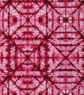 Keepsake Calico Cotton Fabric 43\u0027\u0027-Pink Tonal Geometric Diamond