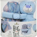 DMC Hug This! Teddy Diamond Baby Blanket Yarn Kit