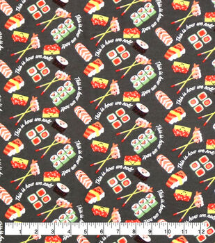 Super Snuggle Flannel Fabric-This Is How We Roll