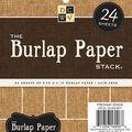 Park Lane 6\u0022x6\u0022 Burlap Paper Stack