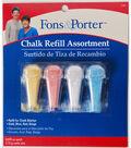 Fons & Porter Chalk Marker Refill Assorted