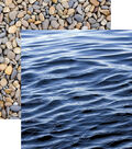 Lake Life Double-Sided Cardstock 12\u0022X12\u0022-Lake Water