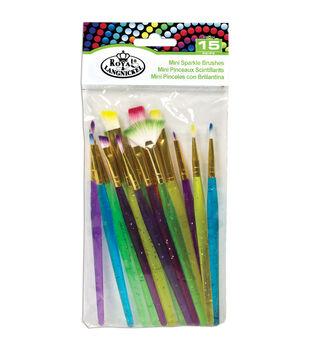 Royal Brush 15ct Mini Sparkle Brush Set