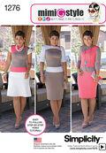 Simplicity Pattern 1276H5 6-8-10-12--Misses Dress