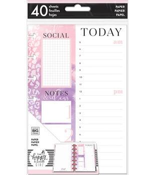 The Happy Planner Girl Mini Fill Paper-Glam Girl