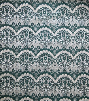 Casa Embellish Ember Eyelash Lace Fabric 56''-Botanical Garden