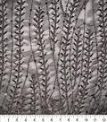 Gianna Vine Embroidered Sequins on Mesh Fabric 47\u0027\u0027