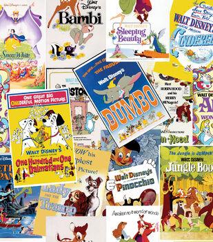 Disney Cotton Fabric -Love Stories