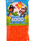 Perler 6000 Count Bead Bag-Orange