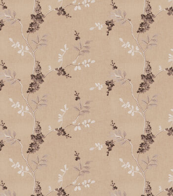 "Eaton Square Lightweight Decor Fabric 51""-Rosehips/Grey"